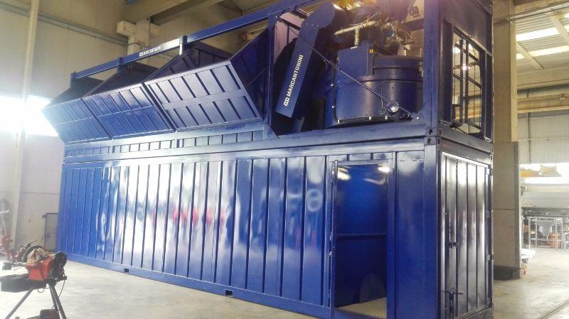 Система взвешивания инертных материалов мобильного бетонного завода МСМ 3.1.25