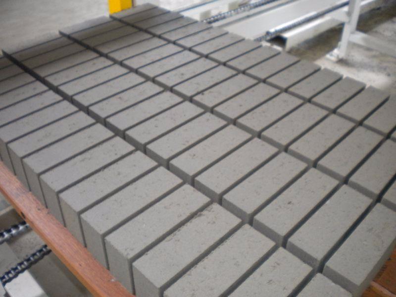 Линия для производства блоков и тротуарной плитки