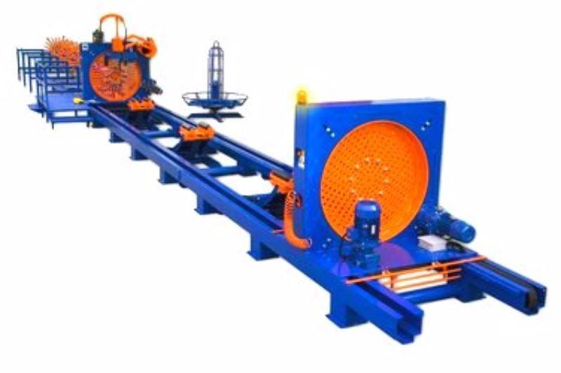 Сварочное оборудование для изготовления каркасов из арматуры