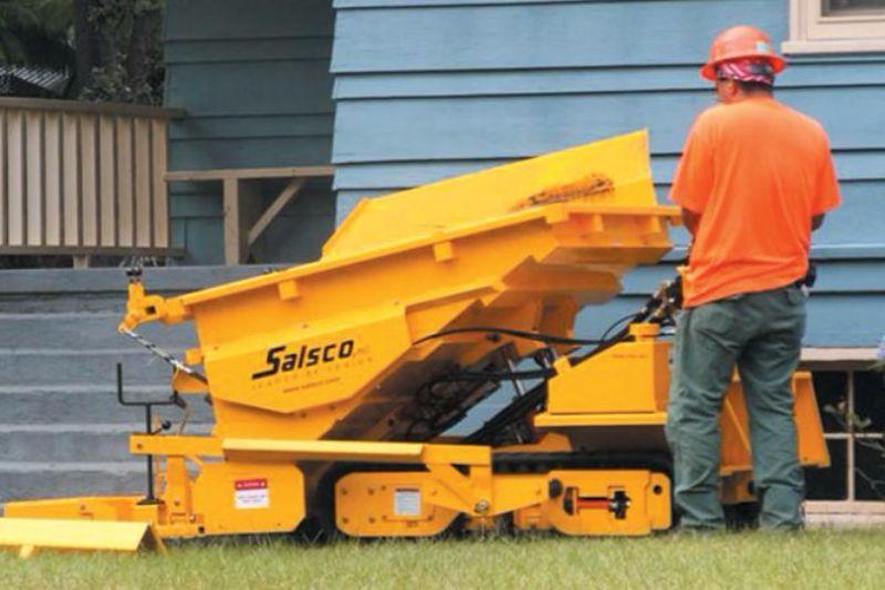 Асфальтоукладчик тротуарный Salsco  TP-411