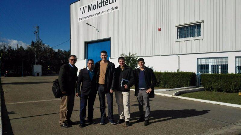 Презентация продукции Moldtech для компании «Мир Заводов»
