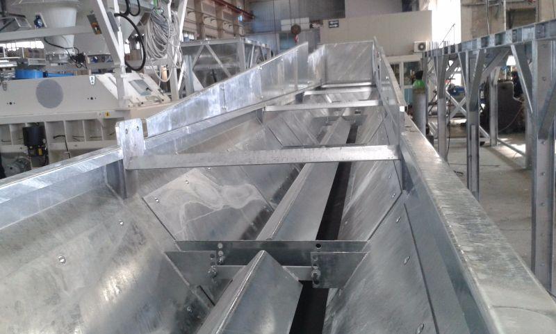 весовой дозатор инертных материалов в дополнительной броней